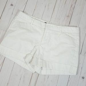 Massimo Women's White Cargo Shorts Size 8